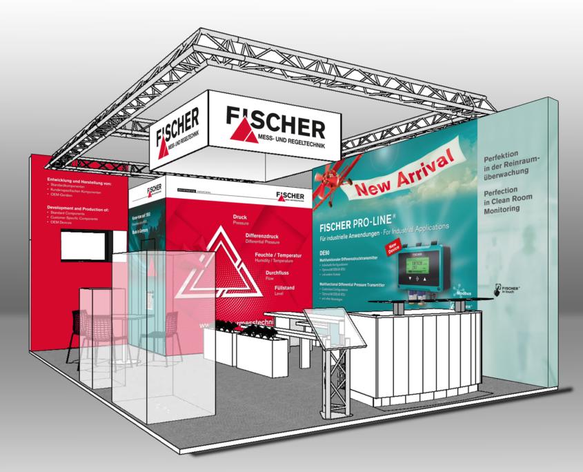 FISCHER Mess- und Regeltechnik Messestand ISH 2019