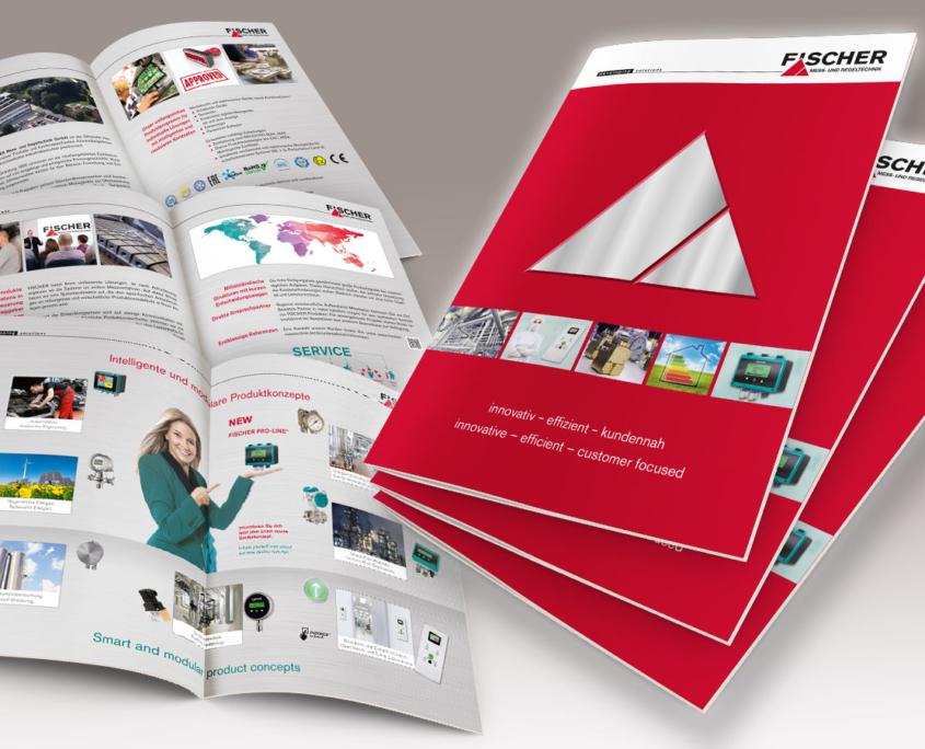 Imagebroschüre der Firma FISCHER Mess- und Regeltechnik GmbH