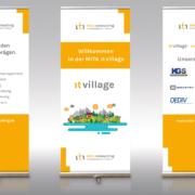 Rollups für eine Veranstaltung der MITA Consulting