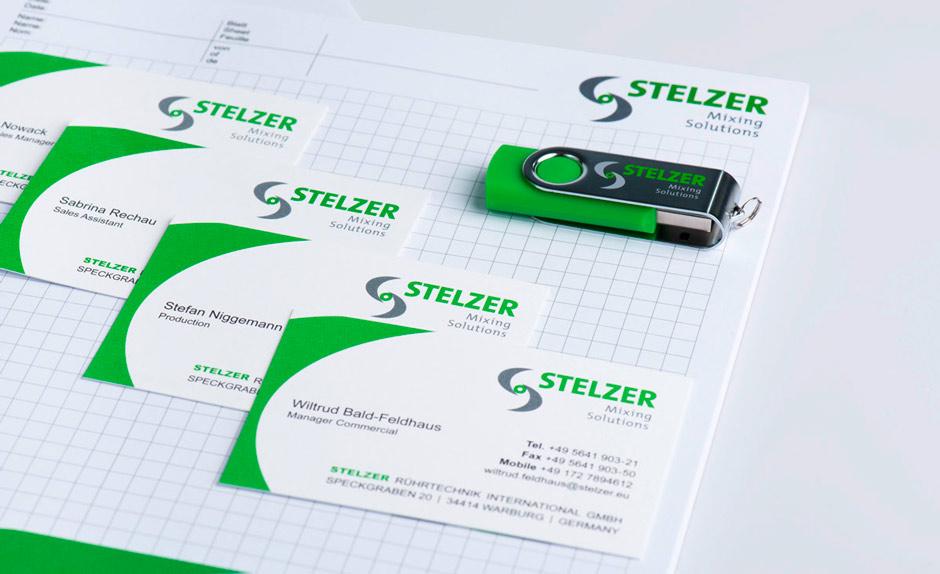 Stelzer Geschäftsausstattung Personaliziert Usb Stick