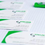 STELZER Geschäftsausstattung-personaliziert Visitenkarten USB Stick