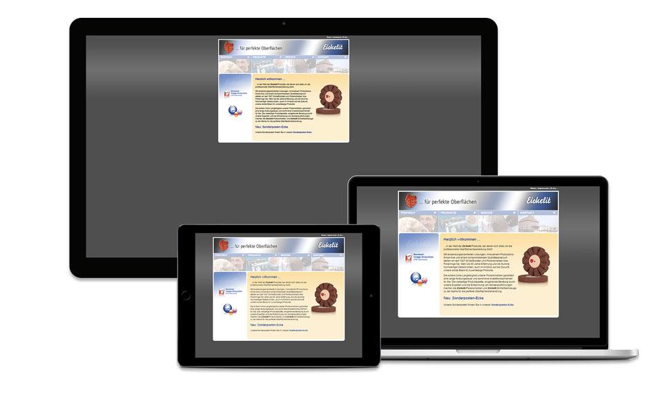 Eickelit Bielefeld Webdesign