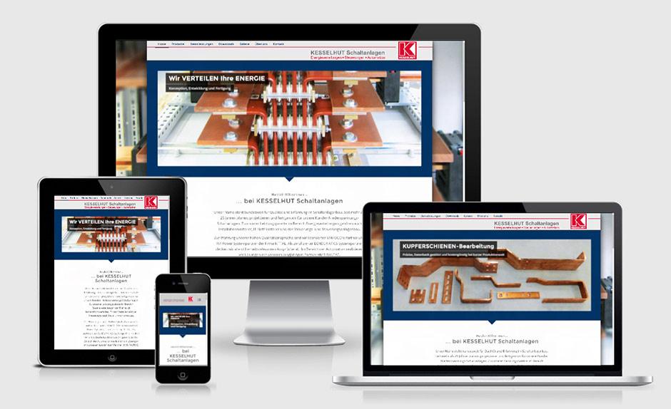 Optimiert Transformiert Kesselhut Schaltanlagen Webseite Referenz
