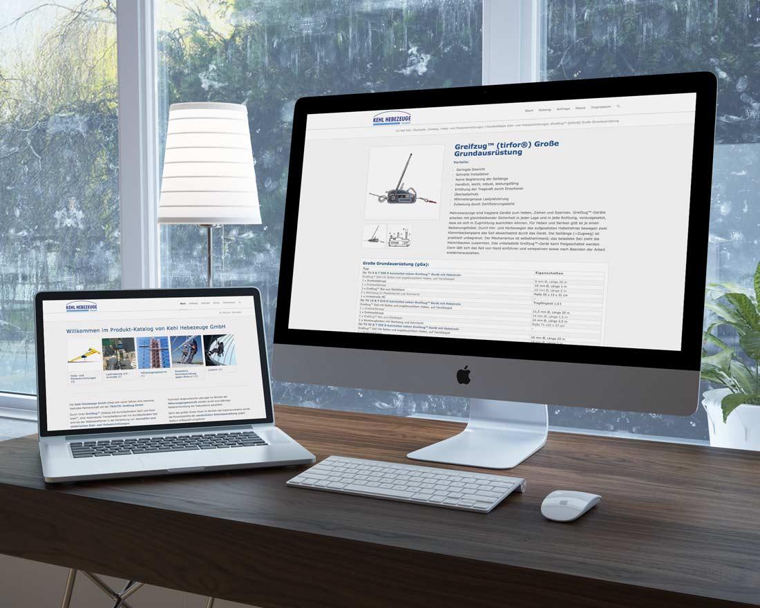Produkt-Katalog von Kehl Hebezeuge GmbH