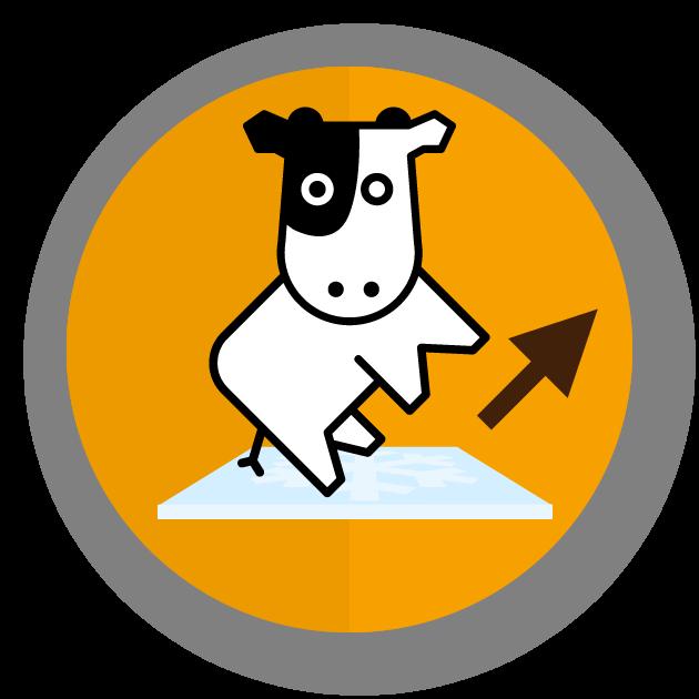 SEO-Kuh-vom-Eis